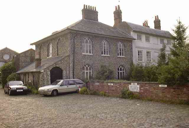 House opposite the Weller Brewery (2001)